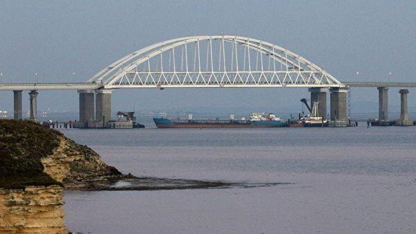 Российский танкер NEYMA в Керченском проливе