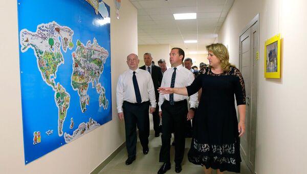 Рабочая поездка премьер-министра РФ Д. Медведева в Севастополь