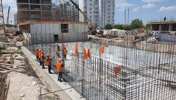 Строительство 162-квартирного дома для реабилитированных граждан в симферопольском микрорайоне Фонтаны