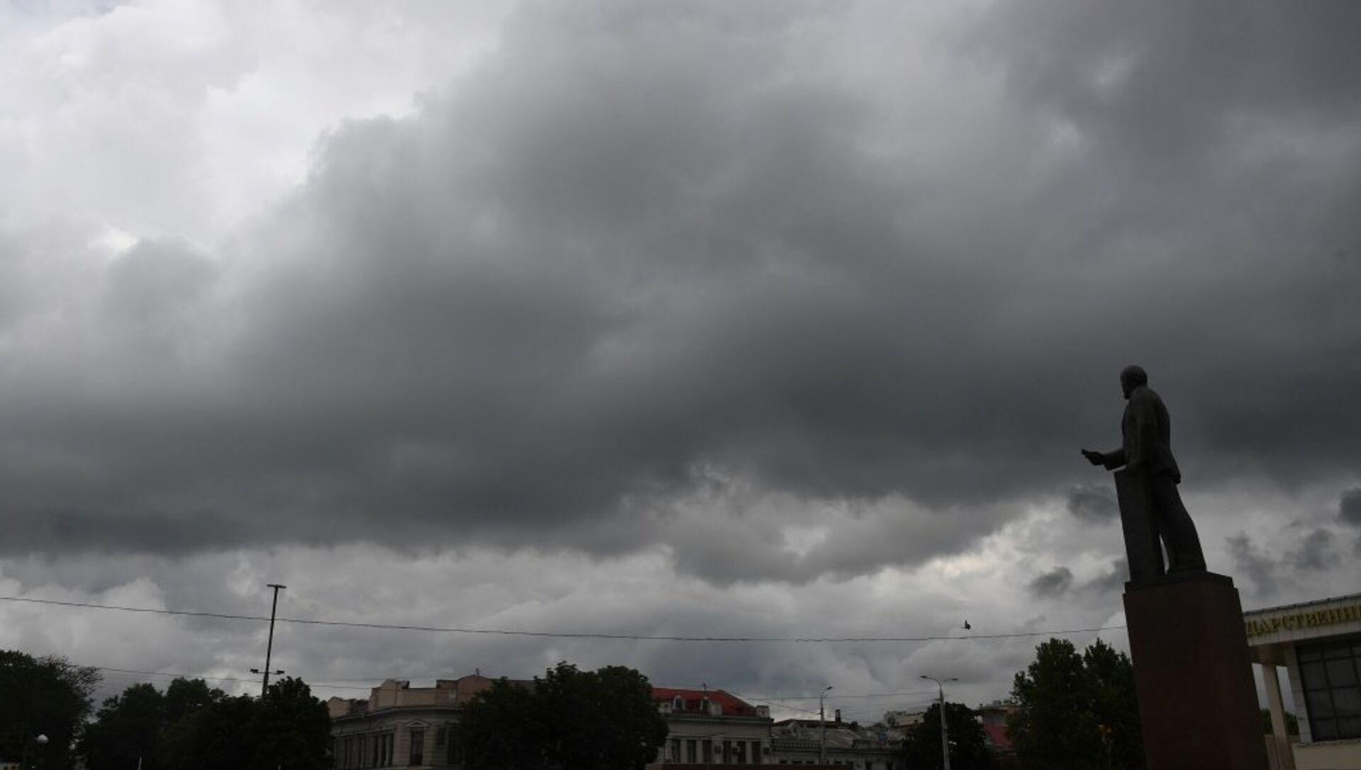 Непогода в Симферополе - РИА Новости, 1920, 02.11.2020