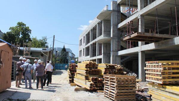 Спортивный центр Крым-Спорт в Симферополе могут сдать на полгода раньше