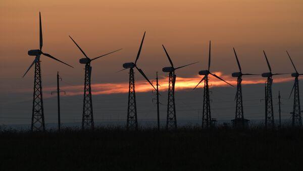 Мирновская ветроэлектростанция в Крыму