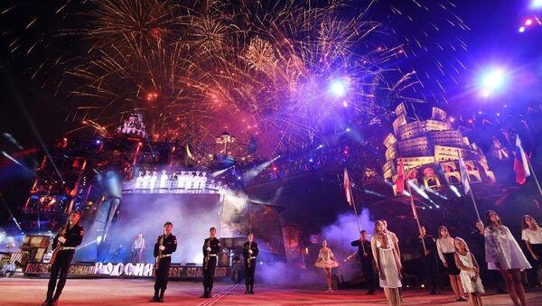 Десятое юбилейное байк-шоу на горе Гасфорта в Севастополе