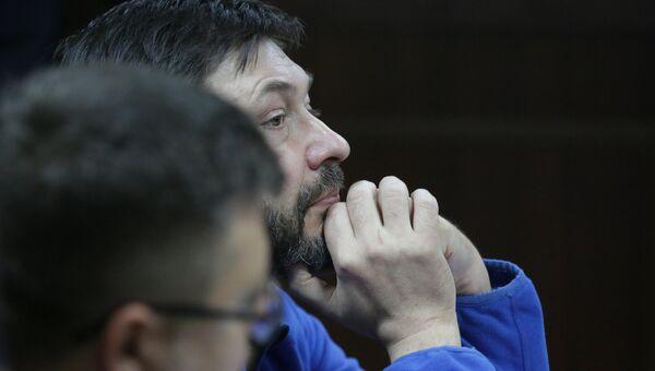 Суд по делу журналиста К. Вышинского в Киеве