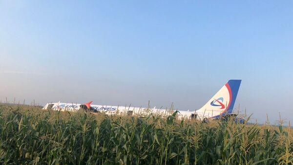 Аварийная посадка самолета Москва-Симферополь