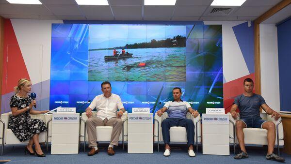 Пресс-конференция на тему: За чистый Байкал: рекордный заплыв крымских спортсменов