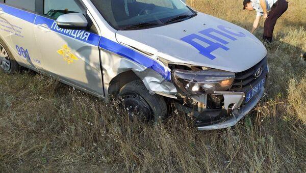 В Евпатории водитель пытался скрыться от ГИБДД