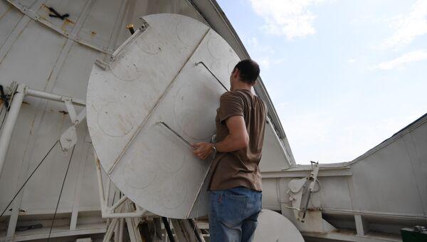 Солнечный телескоп Крымской астрофизической обсерватории
