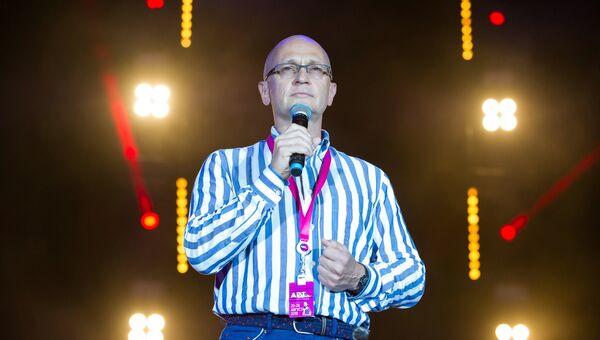 Первый заместитель руководителя администрации президента РФ Сергей Кириенко на фестивале творческих сообществ Таврида-АРТ.