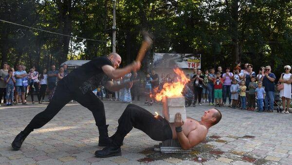 Силовое шоу Богатыри Тавриды в Симферополе