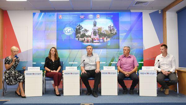 Пресс-конференция Крым глазами сербских ученых