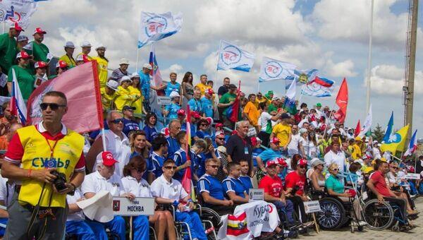 Всероссийский фестиваль людей с инвалидностью Пара-Крым в Евпатории