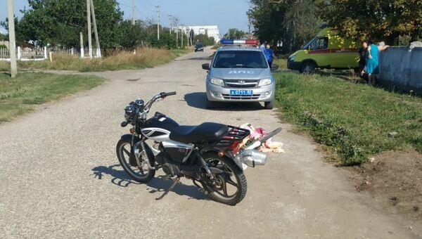 ДТП в поселке Багерово Ленинского района