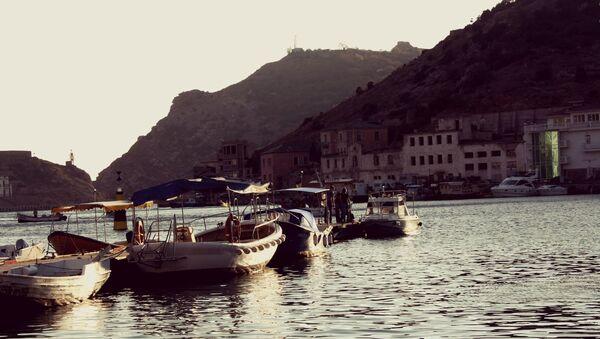 Крым. Балаклава. Лодки.
