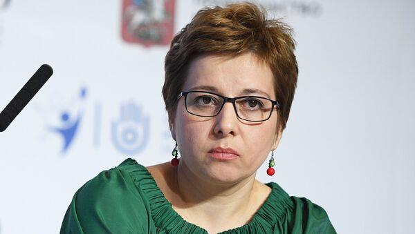 Руководитель Московского многопрофильного центра паллиативной помощи Департамента здравоохранения города Москвы Анна Федермессер. Архивное фото