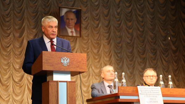 Владимир Колокольцев представил нового министра внутренних дел Республики Крым