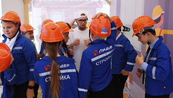 Интерактивный проект Азбука профессий в Симферополе