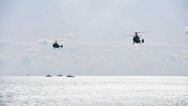 Порядка 3 тысяч военнослужащих задействованы в бригадном тактическом учении на полигоне Опук в Крыму