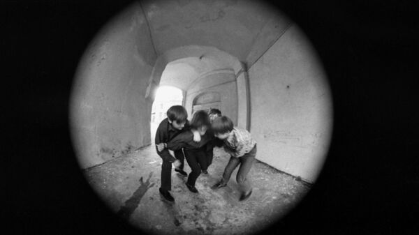 Подростковая агрессия. Архивное фото