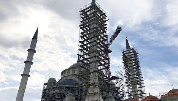 Строительство Соборной мечети Крыма
