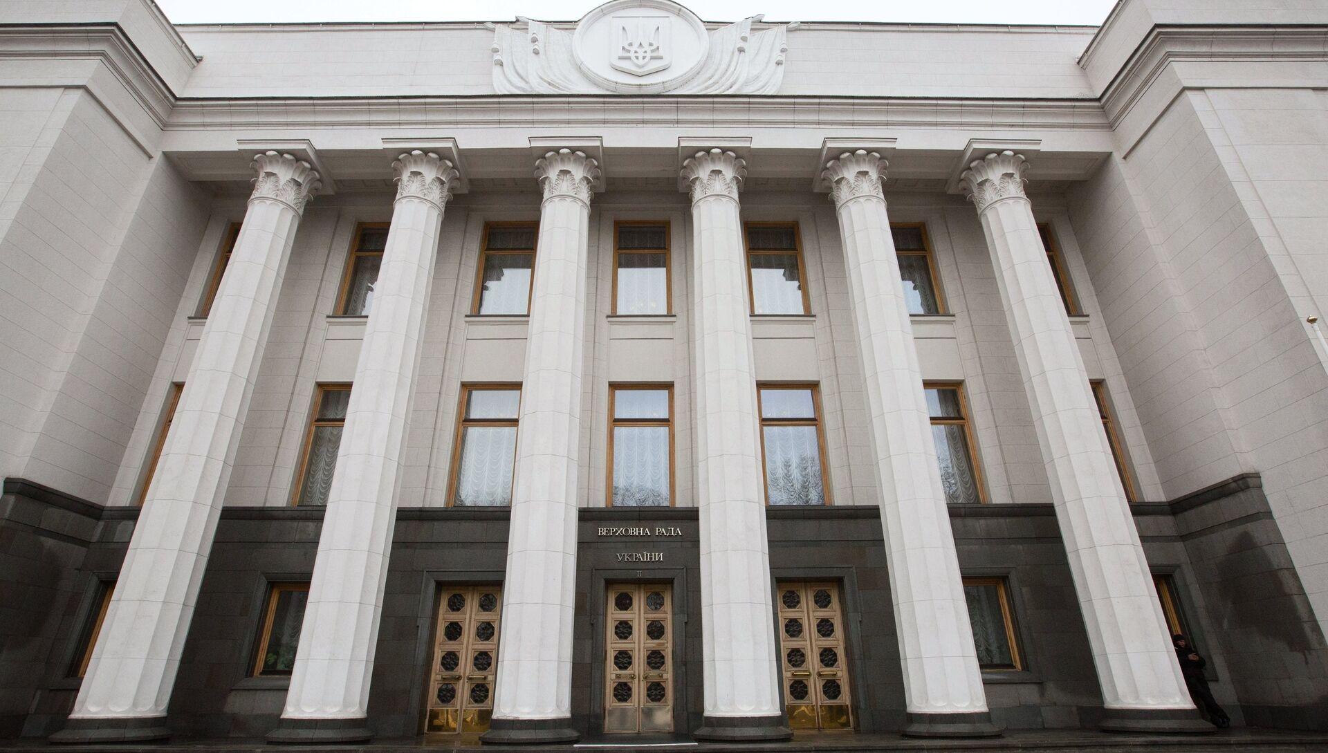 Здание Верховной рады Украины в Киеве - РИА Новости, 1920, 11.11.2020