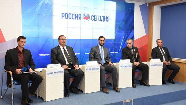 Пресс-конференция на тему: Крым в мировом научно-образовательном пространстве.