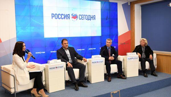 Пресс-конференция Дни культуры Чувашской Республики в Крыму