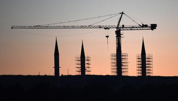 Строительство Соборной мечети Крыма в Симферополе