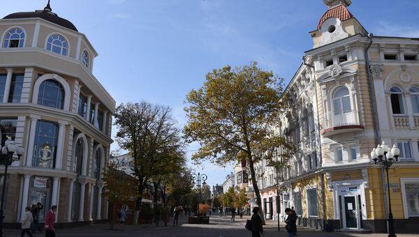 Улица Пушкина в Симферополе