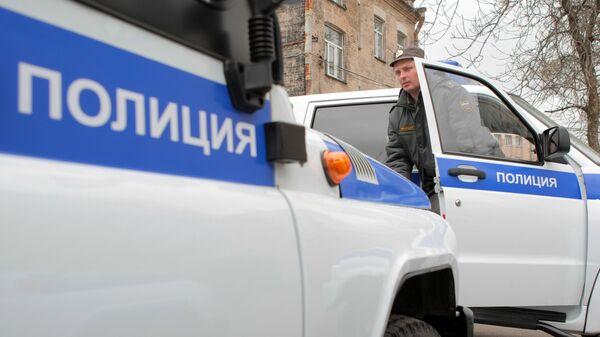 Машины Санкт-Петербургской полиции. Архивное фото
