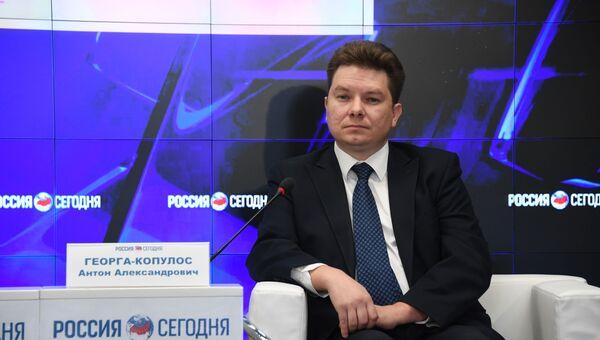 заместитель директора ФГБУН ФИЦ  Морского гидрофизического института  РАН  Антон ГЕОРГА-КОПУЛОС