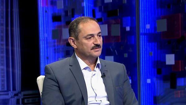 Председатель Госкомитета по делам межнациональных отношений и депортированных граждан РК Альберт Кангиев