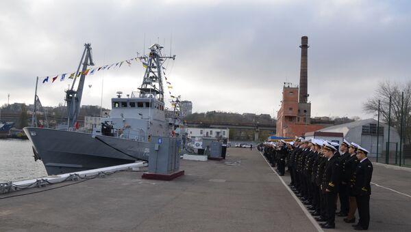 Передача катеров Славянск и Старобельск класса Island в состав ВМСУ
