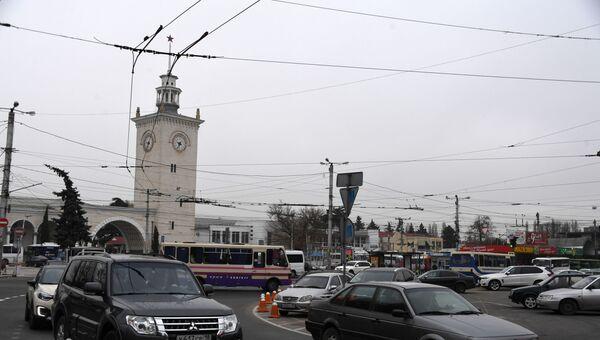 На улицах Симферополя Архивное фото