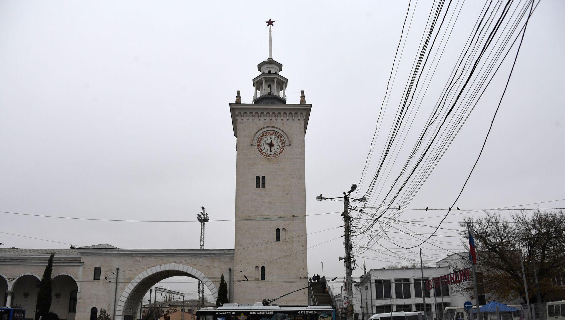 ЖД вокзал в городе Симферополь - РИА Новости, 1920, 02.03.2020