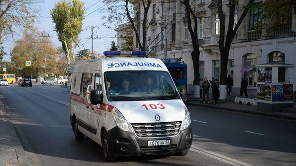 Автомобиль скорой помощи в Севастополе