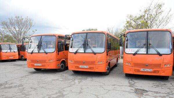 Автобусы в Ялте