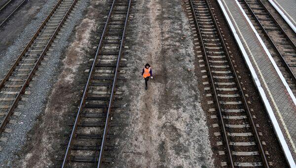 Железнодорожный вокзал города Керчь