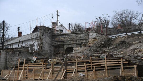 Реконструкция Митридатских лестниц в Керчи