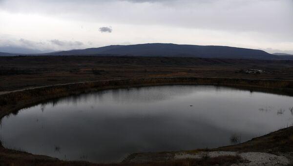 Тайганское водохранилище Белогорск