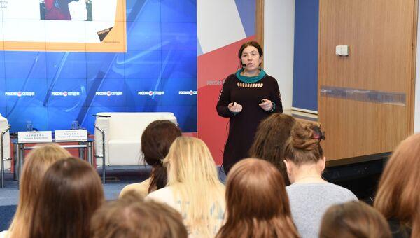 Мастер-класс российского журналиста, медиаменеджера Натальи Лосевой