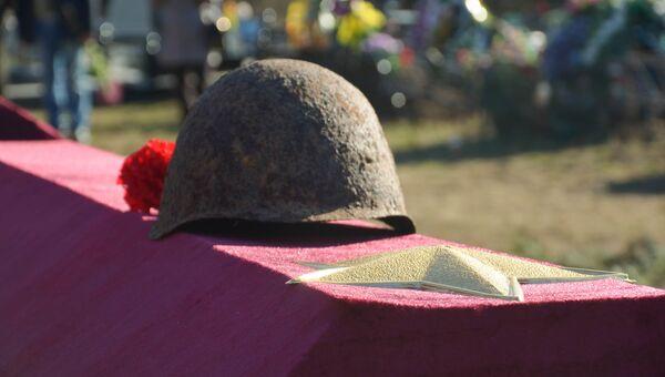 Захоронение останков воинов Великой Отечественной в Феодосии