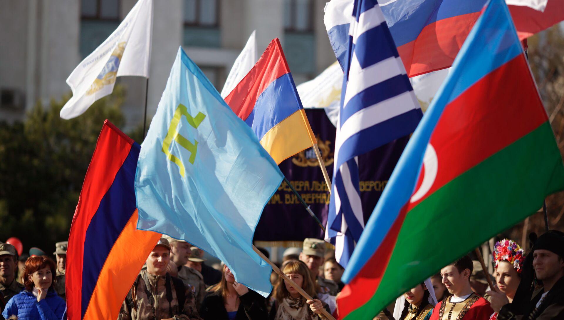 День народного единства в Крыму - РИА Новости, 1920, 04.11.2020