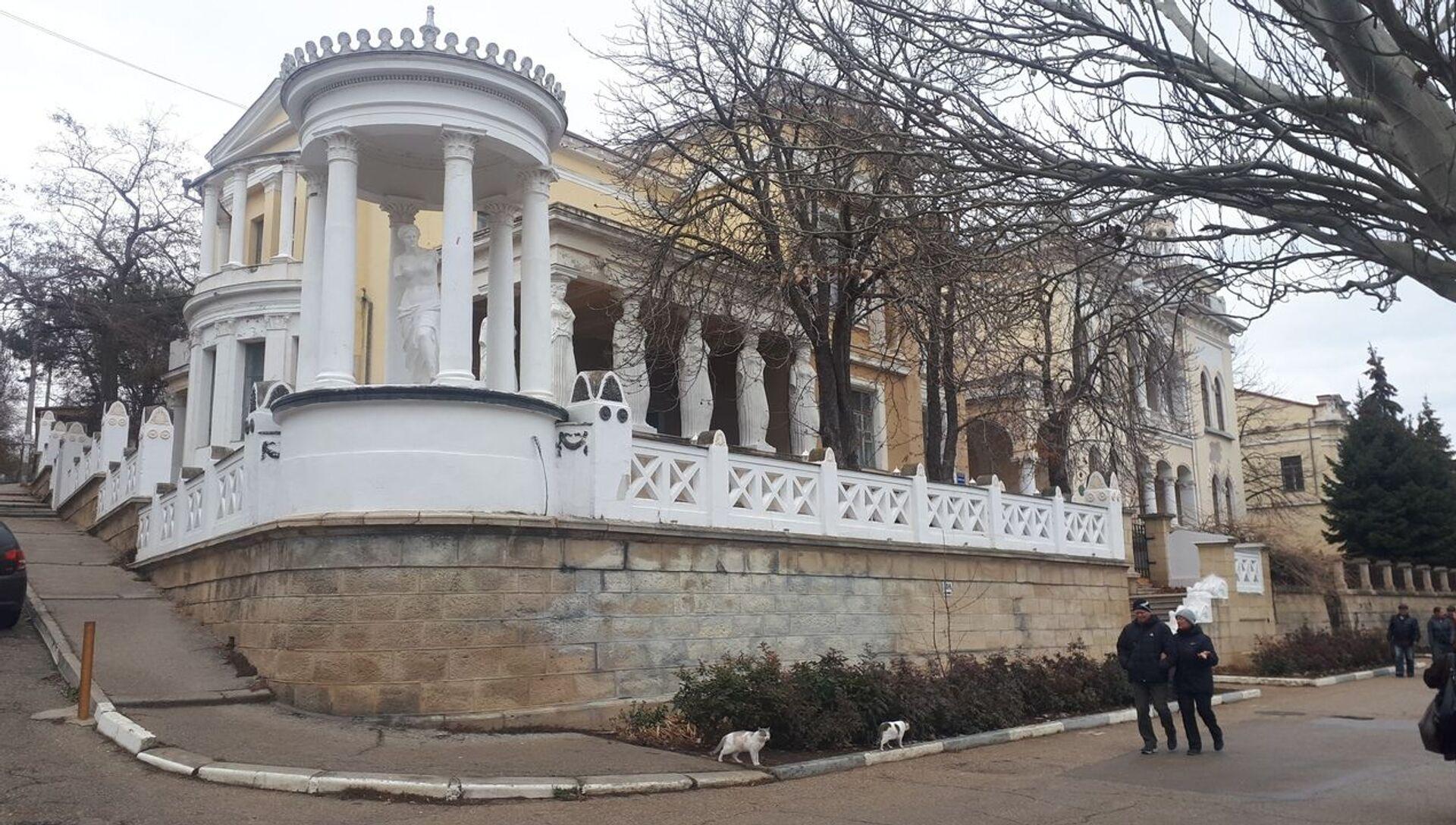 Дача Милос на набережной Феодосии - РИА Новости, 1920, 21.01.2020