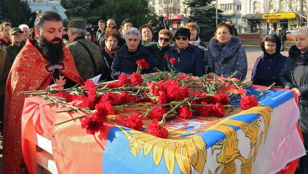 Останки красноармейцев из Армении с почетом передали родственникам