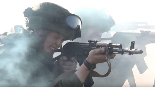 Видео_ учения военной полиции