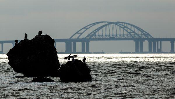 Вид на Крымский мост