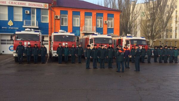 МЧС провели в Керчи генеральную репетицию к открытию Крымского моста