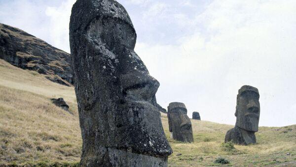 Памятники древнейшего полинезийского искусства на острове Пасхи