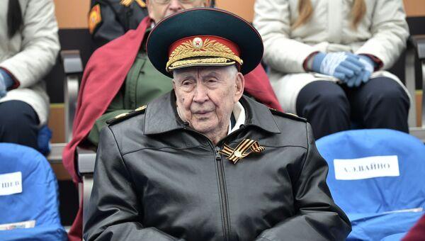 Генерал армии в отставке Махмут Гареев. Архивное фото